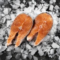 Salmone in tranci 500g